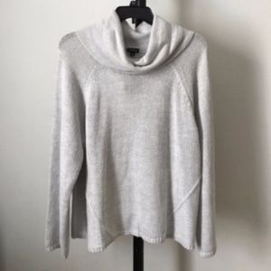 NWT Cropped cowl neck sweater